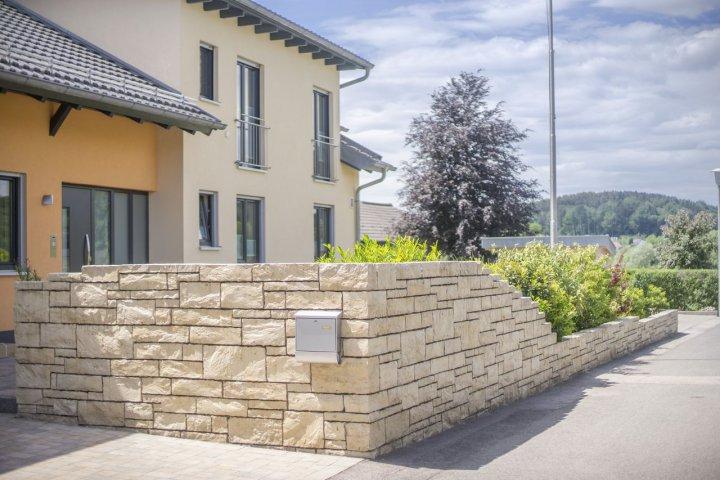Turbo Erstellen von Gartenmauern, Gabionen, Zaun und Sichtschutzanlagen TH28