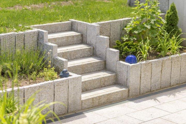 Bekannt Erstellen von Gartenmauern, Gabionen, Zaun und Sichtschutzanlagen WL35