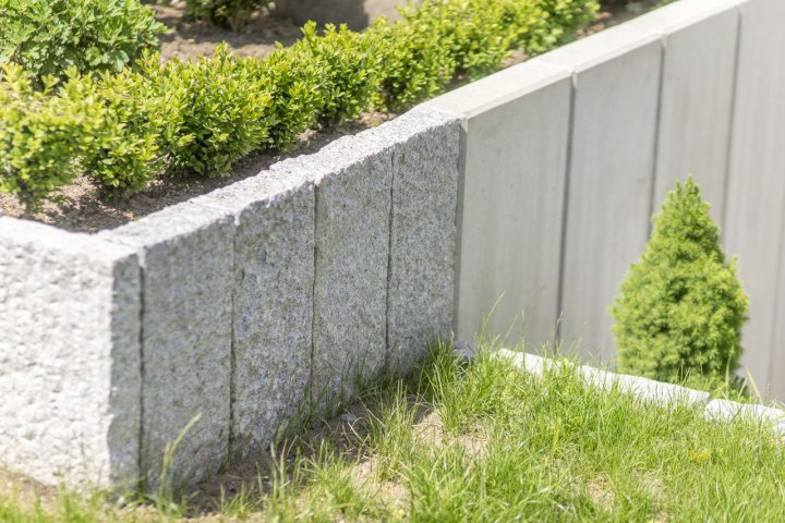 Super Erstellen von Gartenmauern, Gabionen, Zaun und Sichtschutzanlagen XE16