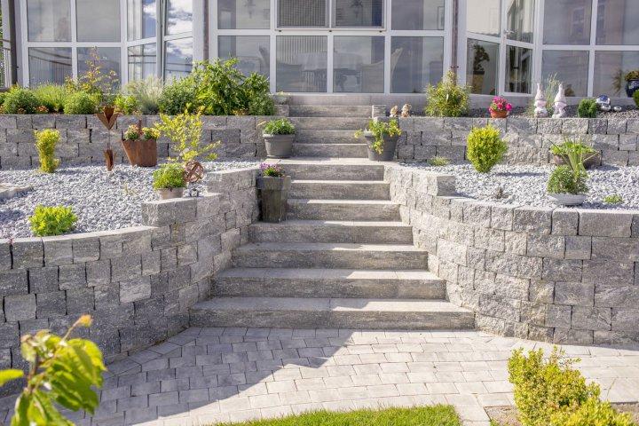 Erstellen von gartenmauern gabionen zaun und sichtschutzanlagen josef geitner sohn gbr - Garten skizze erstellen ...